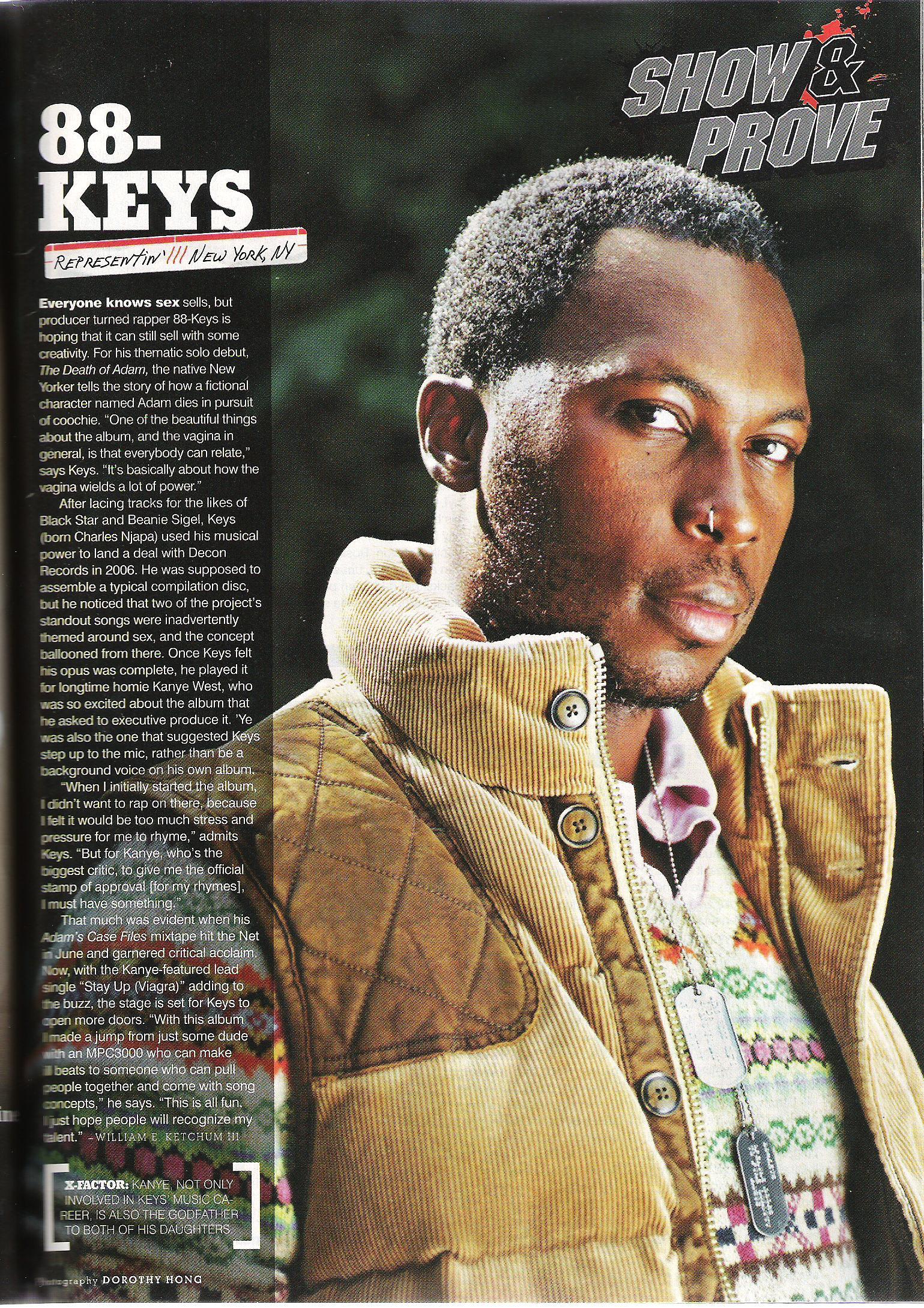 88 keys urb