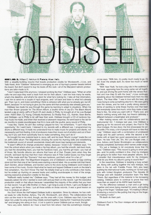 Oddisee feature